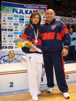 M° Emilio Fotino; Antonella Tirone BRONZO 50 kg