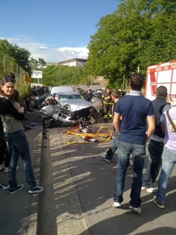 incidente via san lorenzo