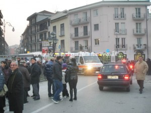 incidente via fiume