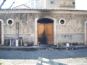 incendio piazza garibaldi
