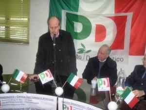 Sindaco Laurenzano al convegno Pd