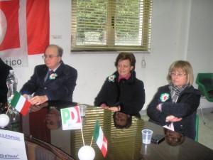 Alberta De Simone e Rosetta D'Amelio al convegno Pd