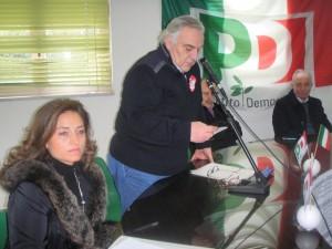 Federico Alvino al convegno Pd
