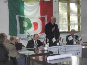 Enzo De Luca al convegno Pd