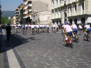 pedalata rosa