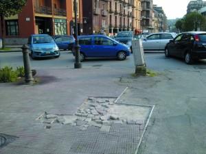 pavimentazione via aversa