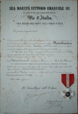 storia_4_-_diploma_cavaliere_del_re_-_angelo_mastroberardino_-_1905