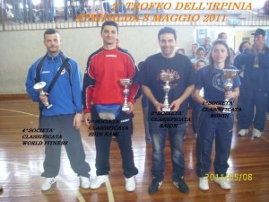 karate raion trofeo dell'irpinia