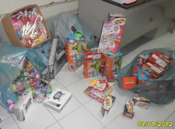 giocattoli sequestrati gdf