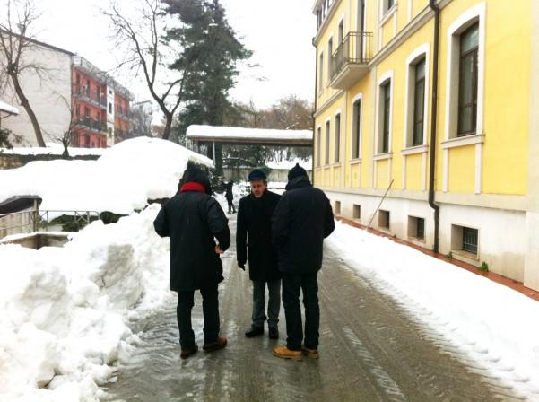 sopralluogo de amicis neve