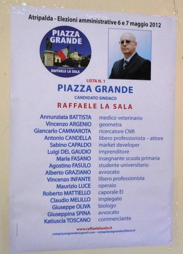 piazza grande candidati