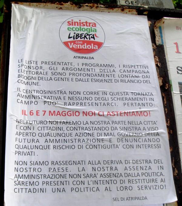 manifesto SEL
