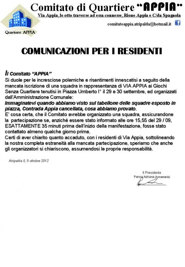comunicazioni-residenti-appia