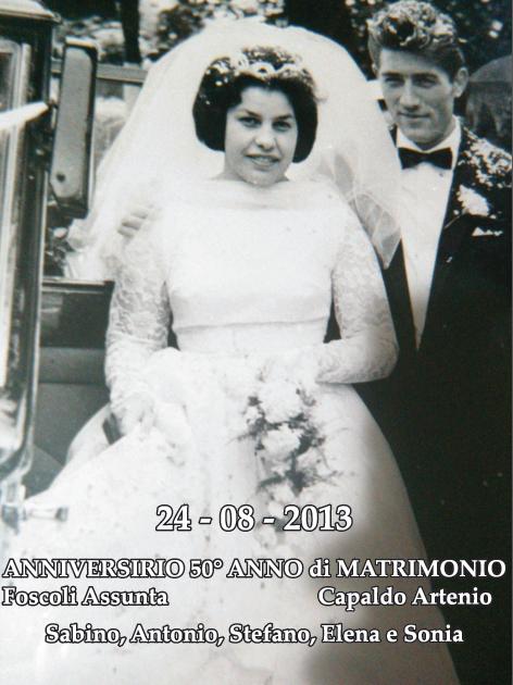 auguri 50 anni matrimonio