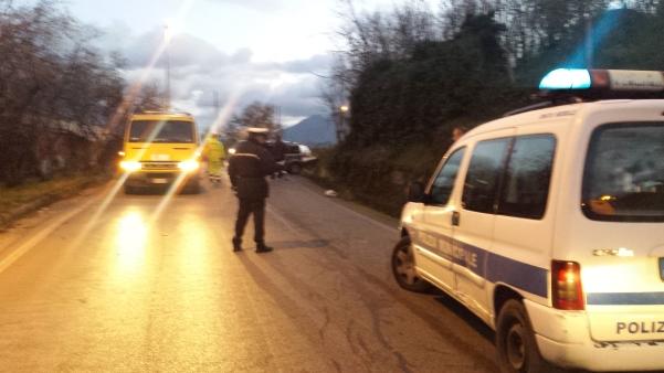 Incidente via provinciale Novesoldi-Cesinali 3