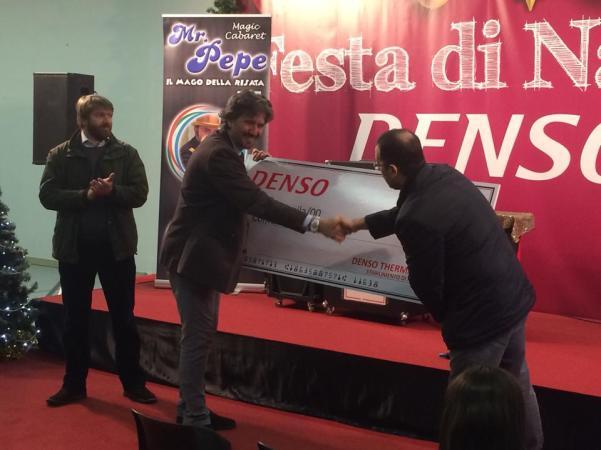 La Denso dona al Comune 5 mila euro2