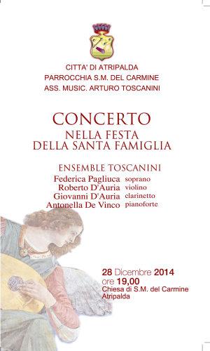 Natale, concerto alla chiesa del Carmine