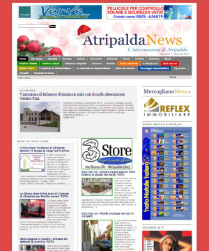 Nuova homepage Atripalda News