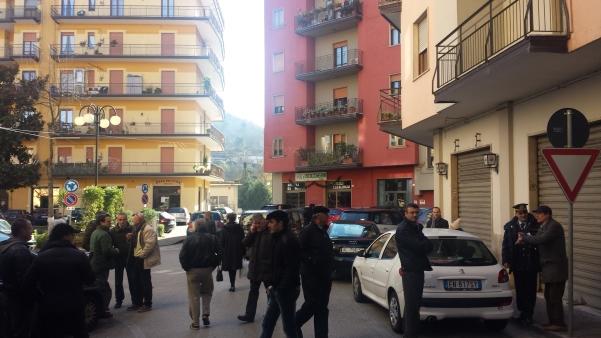 Parcometri, sopralluogo3 in piazza Cassese