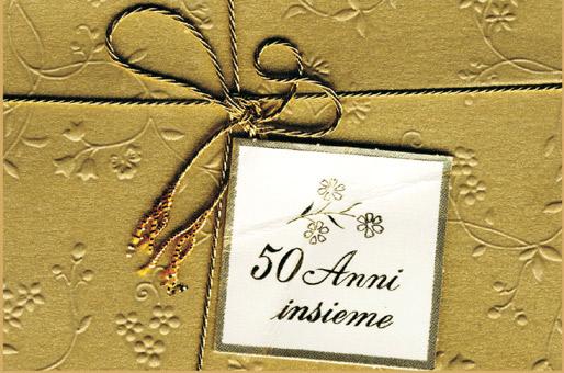 Auguri Cinquantesimo Matrimonio : Nozze d oro guerrera oliva gli auguri della famiglia