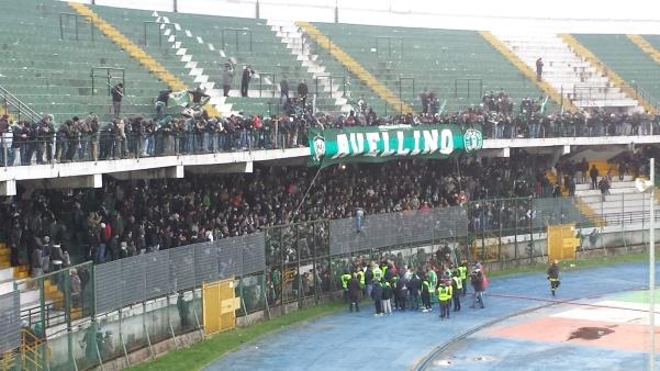 Avellino-Cittadella, faccia a faccia giocatori e tifosi1