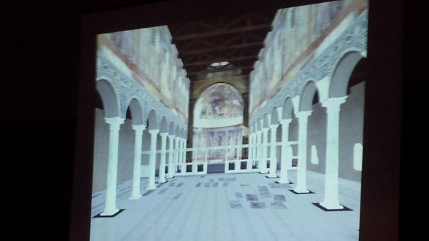 Basilica Paleocristiana, visione in 3D