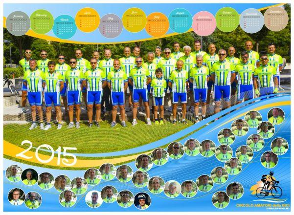 Calendario Circolo Amatori della bici 2015