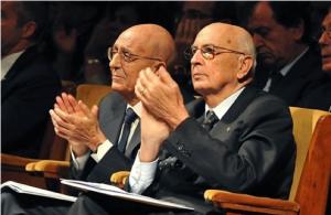 Cassese con Napolitano