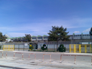 Stadio Partenio, esterno