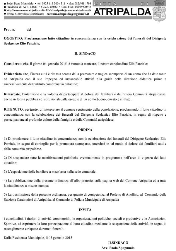 Microsoft Word - ordinanza_sindaco_lutto_cittadino[1].doc