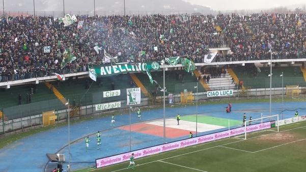 Avellino-Frosinone Curva sud1