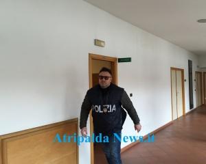 Blitz al Comune, polizia3