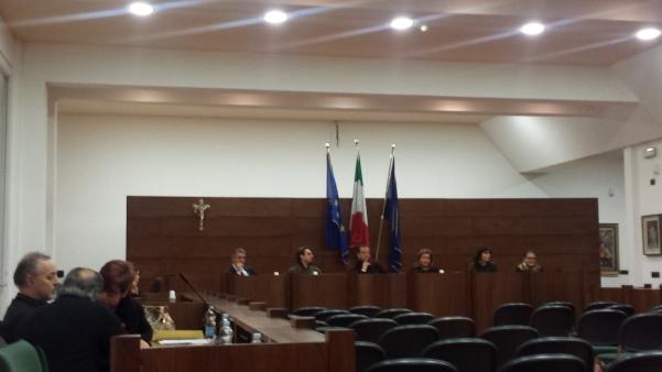 Consiglio comunale, scontro Pacia-Curto2