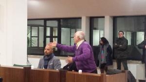 Consiglio comunale, scontro Pacia-Curto3
