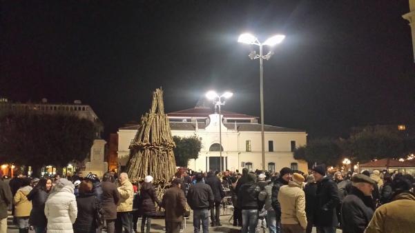 Falò San Sabino febbraio 2015