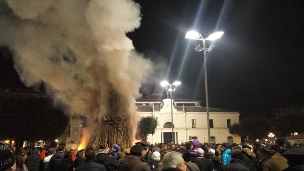 Falò San Sabino febbraio 2015 n3