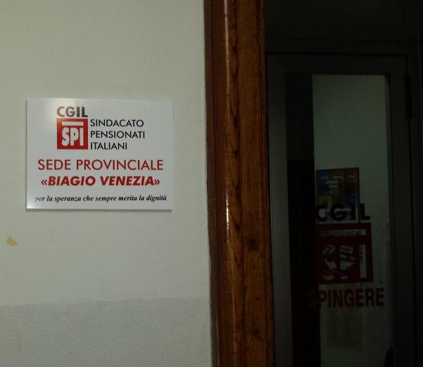 Intitolazione Biagio Venezia