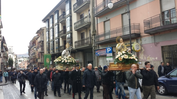 Processione San Sabino febbraio 2015 n9