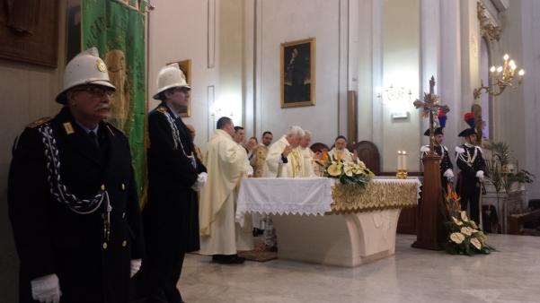 San Sabino 2015, Messa con Vescovo Marino3