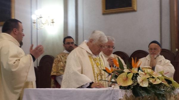 San Sabino 2015, Messa con vescovo Marino1