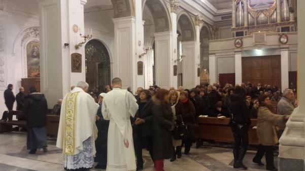 San Sabino 2015, Messa con vescovo Marino6