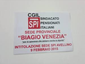 Sede Cgil-Spi Biagio Venezia