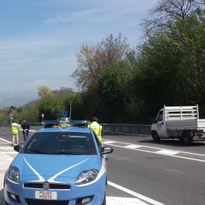 Variante 7bis, incidente polizia