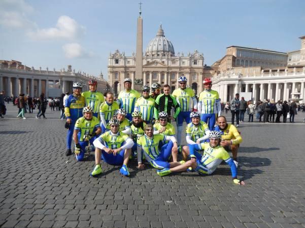 Amatori della bici a Roma2