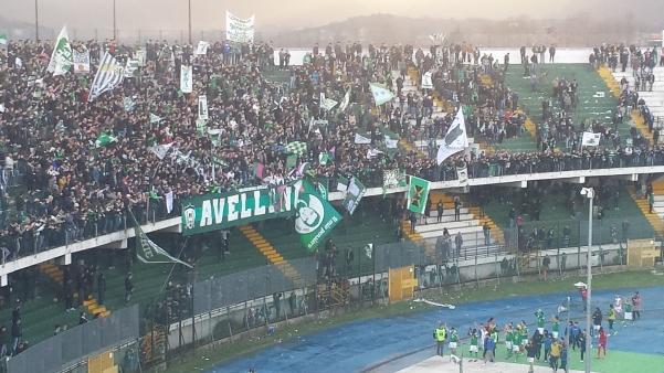 Avellino-Ternana fine gara