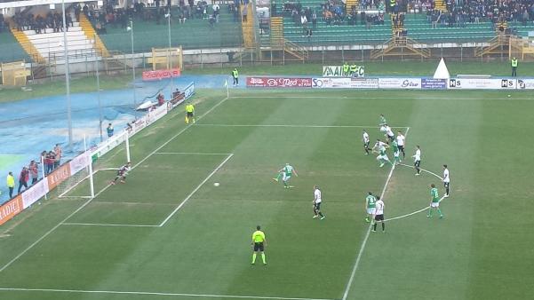 Avellino-Ternana rigore Castaldo
