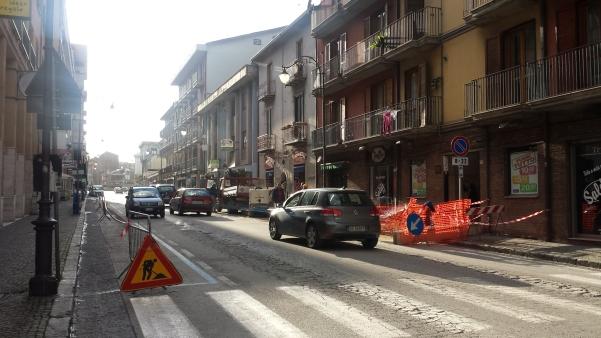 Lavori lungo via Roma, divieto di sosta2