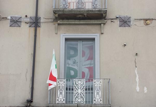 Pd Atripalda, sede in piazza Umberto