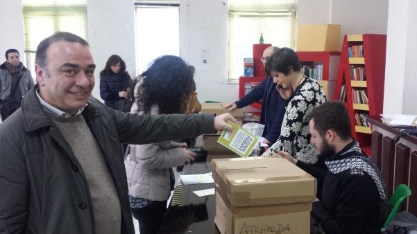 Primarie centrosinistra 2015, Tuccia