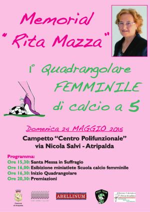 Locandina Memorial Mazza